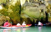 тур на байдарке в пещеры, Тайланд