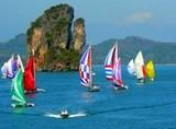 яхтенный спорт, катание на яхтах в тайланде