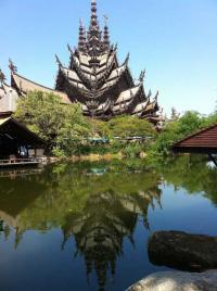 экскурсии в паттайе, храм святилище истины
