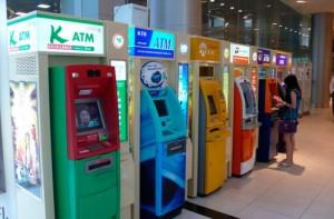 Банкоматы в Таиланде